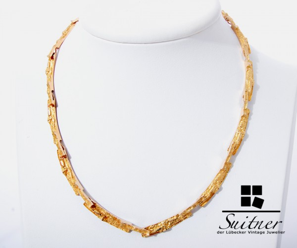 Björn Weckström Lapponia Collier 585 Gold - Luxus pur Finnland
