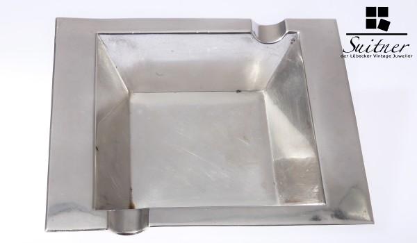 Art Deco Aschenbecher aus 830 Silber von Lemor Breslau im Top Zustand ashtray