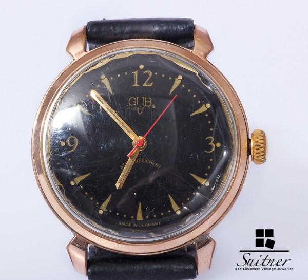 Glashütte GuB Vintage Uhr Handaufzug Kaliber 69.1