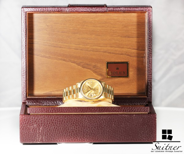 Rolex Day Date 18238 mit Diamanten