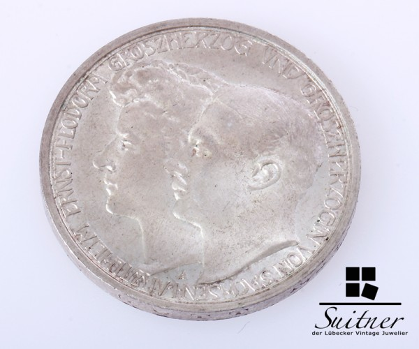 3 Mark Sachsen - Weimar Eisenach 1910 vz Prägestätte A