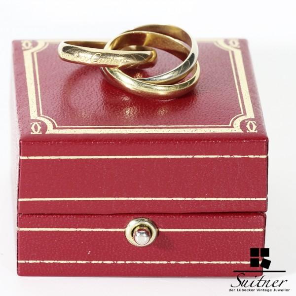 Cartier Trinity Größe 53 Gold im Etui