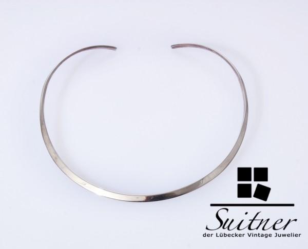 Quinn Reif Halskette 925 Silber Halsreif Modernist Silver Design