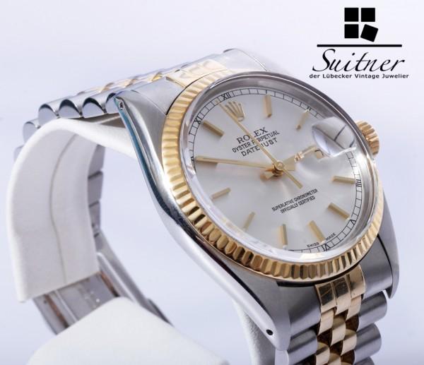 Rolex Datejust 16013 von 1979 Stahl Gold Automatik mit Revision