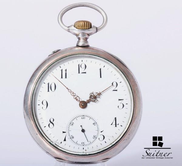 Taschenuhr IWC Silber 800 Lepine um 1900