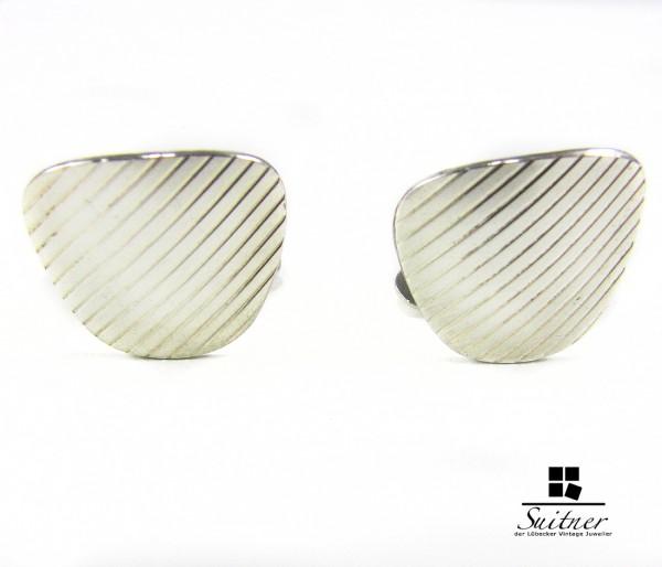 Manschettenknöpfe Silber 835 graviert
