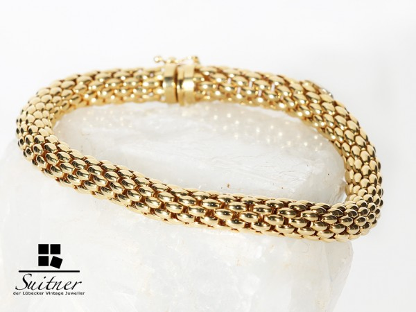 Luxus FOPE Armband aus 750 Gold