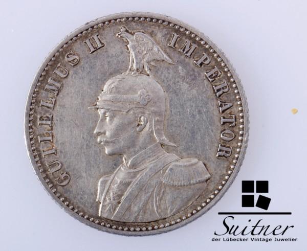 1/2 Rupie Deutsch- Ostafrikanische Gesellschaft 1897 SS Kolonie Afrika selten