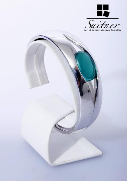 Schöner Modernist-Armreif aus 925er Silber von Pierre Cardin