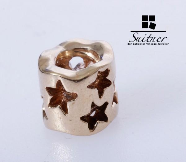 Pandora Charm 585 Gold Sterne - Stars - Neupreis ca. 360,- Euro